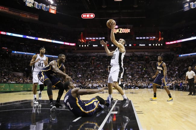 Pacers vs. Spurs - 2/9/15 NBA Pick, Odds, and Prediction