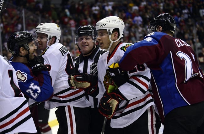 Colorado Avalanche vs. Chicago Blackhawks - 12/27/14 NHL Pick, Odds, and Prediction