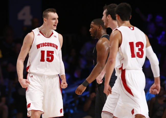 Wisconsin vs. Oklahoma - 11/28/14 College Basketball Pick, Odds, and Prediction