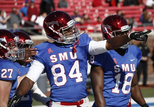 Connecticut Huskies vs. Southern Methodist Mustangs - 12/6/14 College Football Pick, Odds, and Prediction