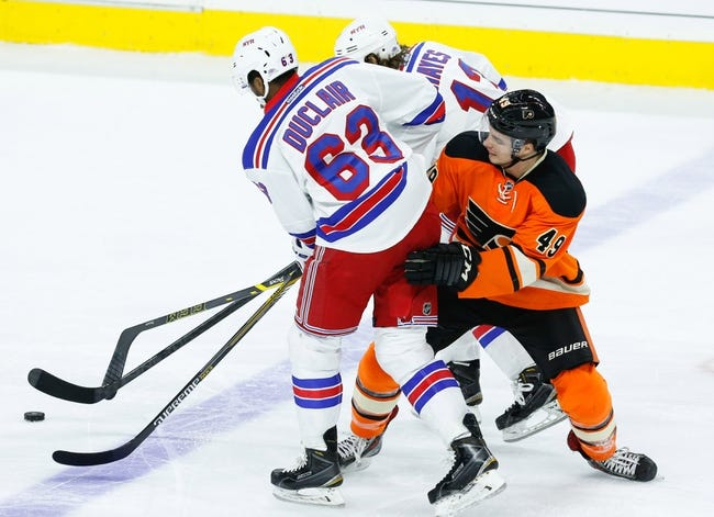 NHL | Philadelphia Flyers (8-10-3) at New York Rangers (9-8-4)