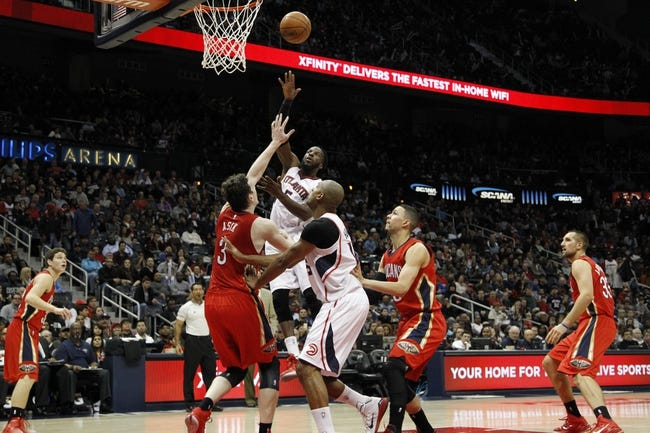 Pelicans vs. Hawks - 2/2/15 NBA Pick, Odds, and Prediction