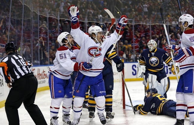 Montreal Canadiens vs. Buffalo Sabres - 11/29/14 NHL Pick, Odds, and Prediction