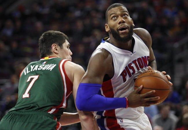 Bucks vs. Pistons - 1/24/15 NBA Pick, Odds, and Prediction