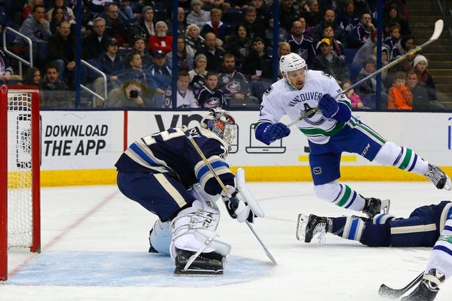 Vancouver Canucks vs. Columbus Blue Jackets - 3/19/15 NHL Pick, Odds, and Prediction