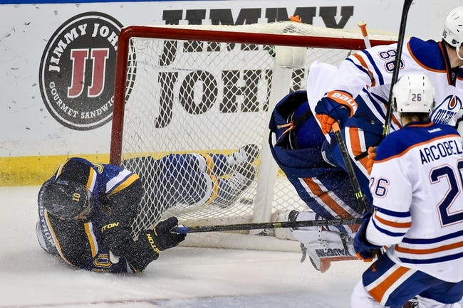 Blues vs. Oilers - 1/13/15 NHL Pick, Odds, and Prediction
