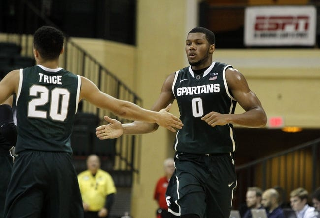 Michigan State vs. Oakland - 12/14/14 College Basketball Pick, Odds, and Prediction
