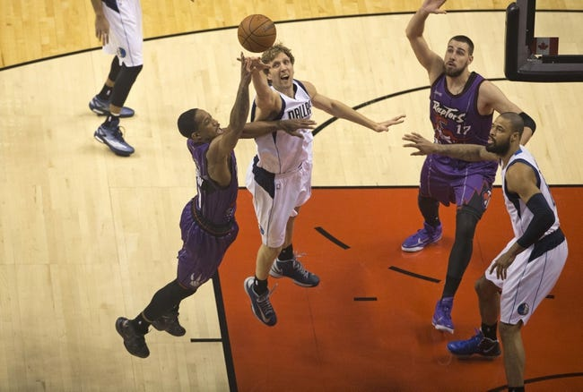 Mavericks vs. Raptors - 2/24/15 NBA Pick, Odds, and Prediction