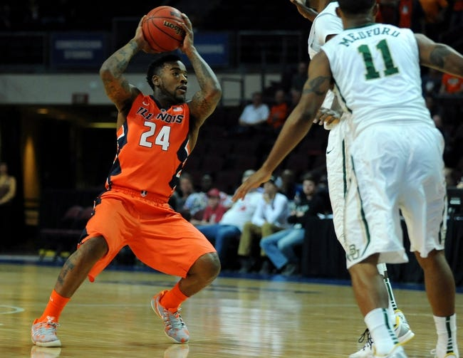 Miami Hurricanes vs. Illinois Fighting Illini - 12/2/14 College Basketball Pick, Odds, and Prediction