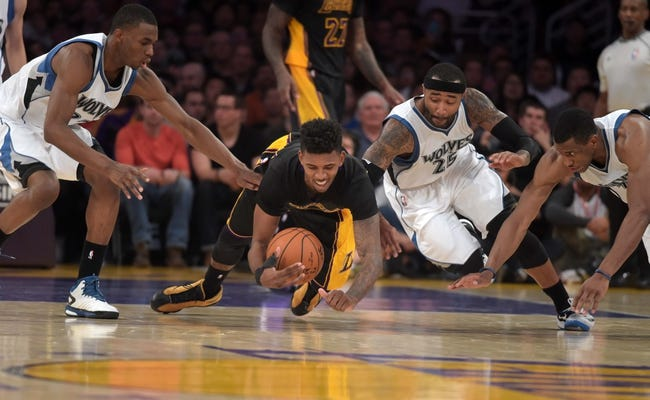 Timberwolves vs. Lakers - 12/14/14 NBA Pick, Odds, and Prediction