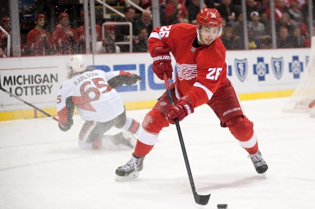 Senators vs. Red Wings - 12/27/14 NHL Pick, Odds, and Prediction