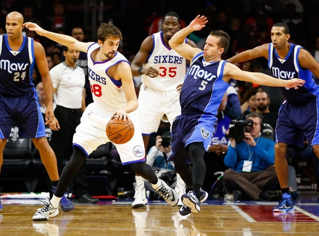 Mavericks at 76ers - 11/16/15 NBA Pick, Odds, and Prediction