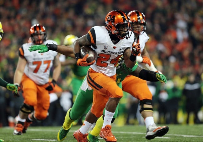 CFB | Weber State Wildcats (0-1) at Oregon State Beavers (5-7)