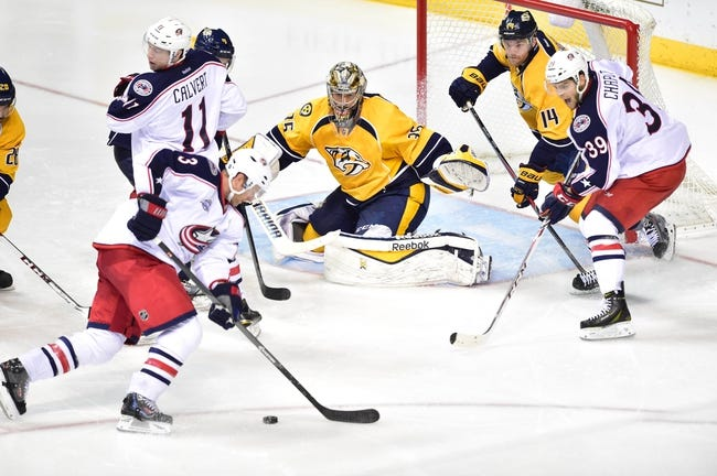 Blue Jackets vs. Predators - 12/22/14 NHL Pick, Odds, and Prediction