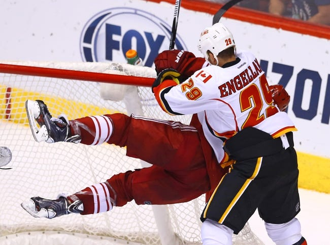Calgary Flames vs. Arizona Coyotes - 12/2/14 NHL Pick, Odds, and Prediction