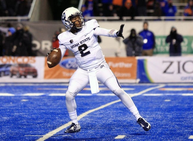 Texas El Paso vs.Utah State New Mexico Bowl - 12/20/14 College Football Pick, Odds, and Prediction