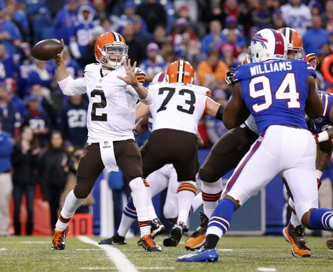 Buffalo Bills at Cleveland Browns- 8/20/15 NFL Pick, Odds, and Prediction
