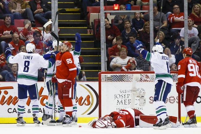 NHL | Detroit Red Wings (20-9-9) at Vancouver Canucks (21-12-3)