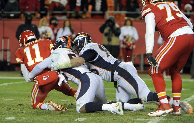Denver Broncos at Kansas City Chiefs- 9/17/15 NFL Pick, Odds, and Prediction