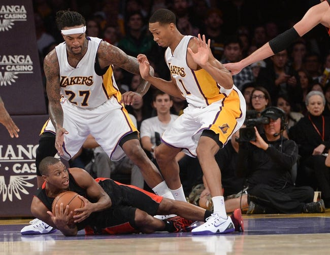 Raptors vs. Lakers - 3/27/15 NBA Pick, Odds, and Prediction