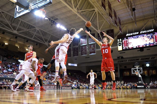 Saint Peter's Peacocks vs. Marist Red Foxes - 1/4/15 College Basketball Pick, Odds, and Prediction
