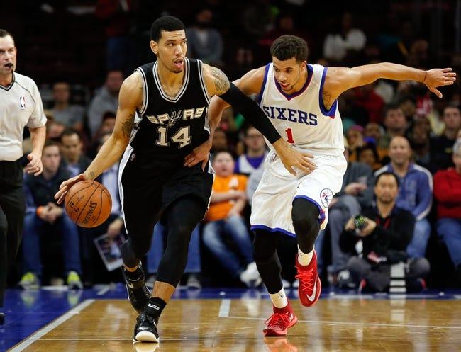 San Antonio Spurs vs. Philadelphia 76ers - 11/14/15 NBA Pick, Odds, and Prediction