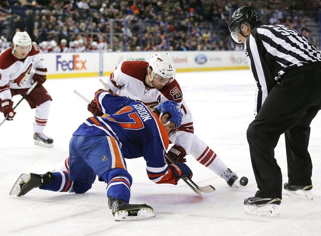 Coyotes vs. Oilers - 12/16/14 NHL Pick, Odds, and Prediction