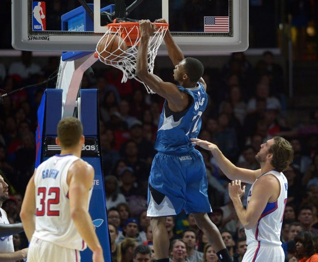 Clippers at Timberwolves - 3/2/15 NBA Pick, Odds, and Prediction