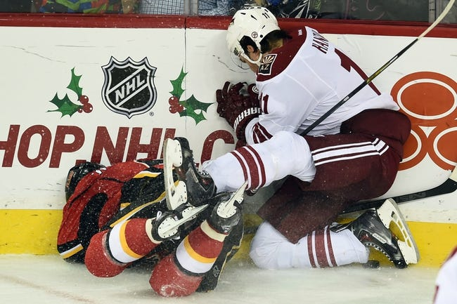 Arizona Coyotes vs. Calgary Flames - 1/15/15 NHL Pick, Odds, and Prediction