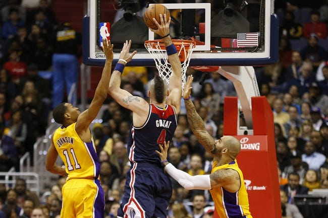 Lakers vs. Wizards - 1/27/15 NBA Pick, Odds, and Prediction