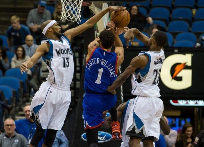 76ers vs. Timberwolves 1/30/15 -  NBA Pick, Odds, and Prediction