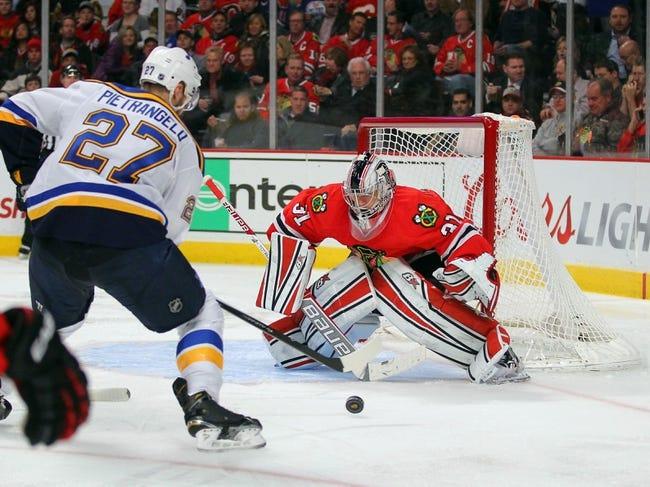 Blues vs. Blackhawks - 2/8/15 NHL Pick, Odds, and Prediction