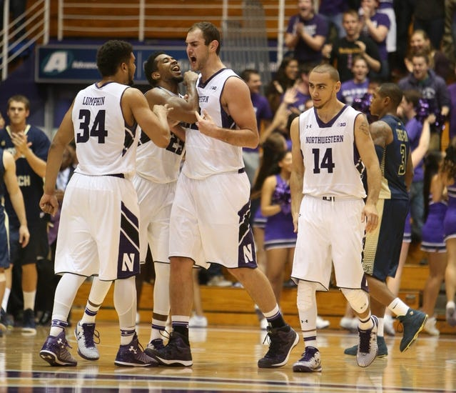 Northwestern vs. Central Michigan - 12/17/14 College Basketball Pick, Odds, and Prediction