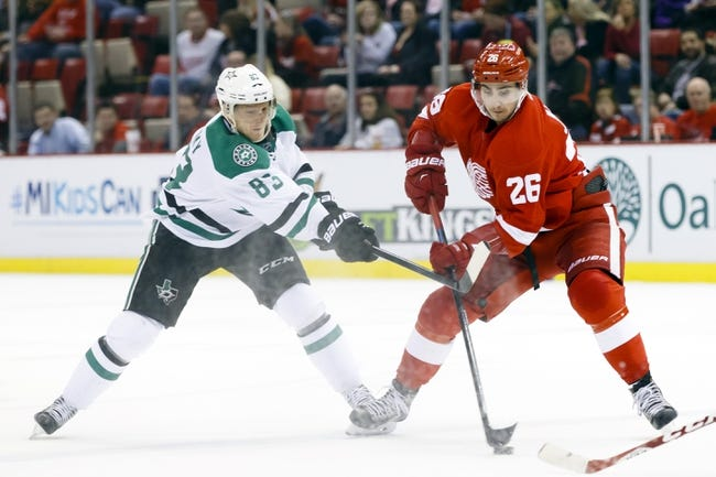 NHL | Detroit Red Wings (32-14-10) at Dallas Stars (27-23-8)