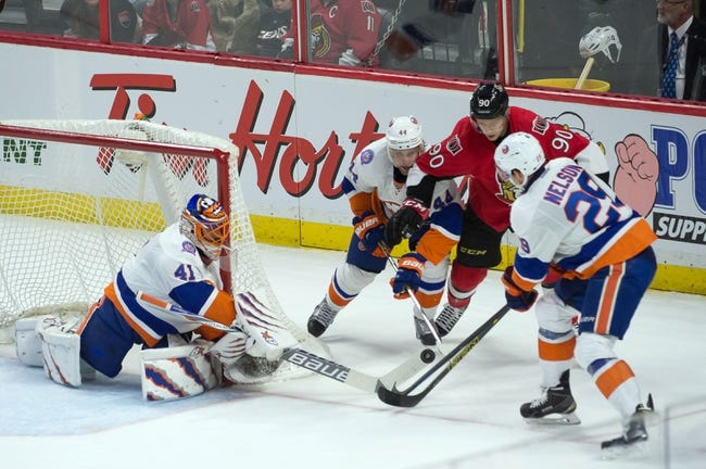 New York Islanders vs. Ottawa Senators - 3/13/15 NHL Pick, Odds, and Prediction