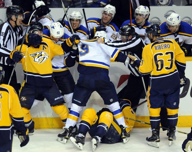 Predators vs. Blues - 12/30/14 NHL Pick, Odds, and Prediction