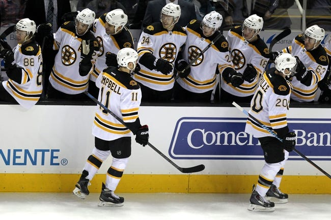 Arizona Coyotes vs. Boston Bruins - 12/6/14 NHL Pick, Odds, and Prediction