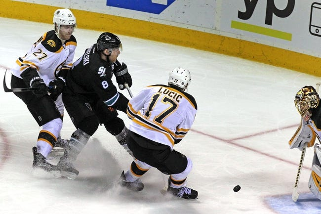 Boston Bruins vs. San Jose Sharks - 11/17/15 NHL Pick, Odds, and Prediction