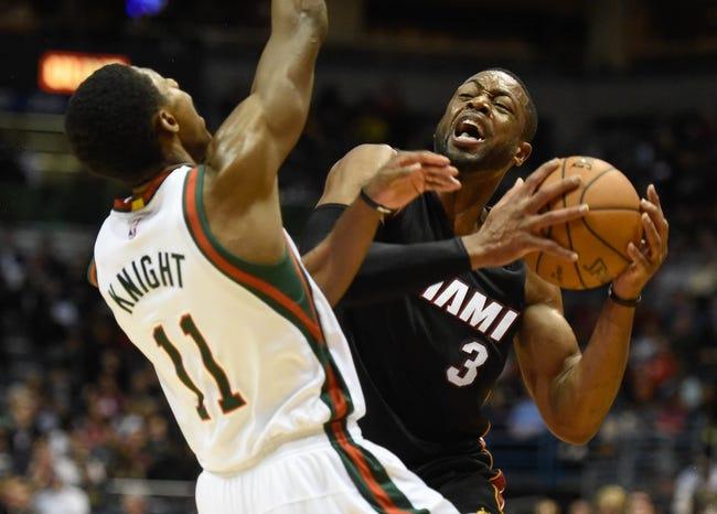 Heat vs. Bucks - 1/27/15 NBA Pick, Odds, and Prediction