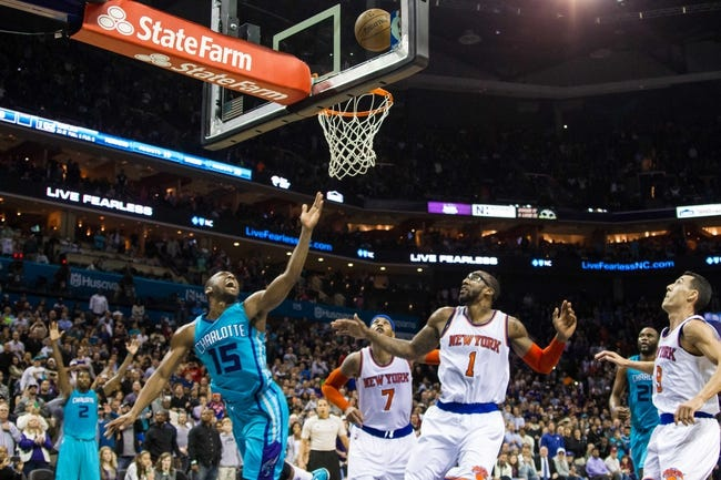 New York Knicks vs. Charlotte Hornets - 1/10/15 NBA Pick, Odds, and Prediction