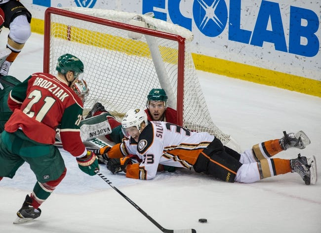 Minnesota Wild vs. Anaheim Ducks - 3/13/15 NHL Pick, Odds, and Prediction