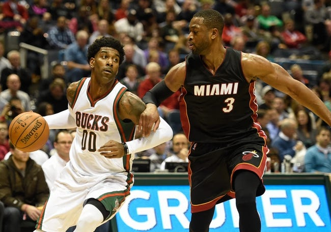 Bucks at Heat - 1/19/16 NBA Pick, Odds, and Prediction