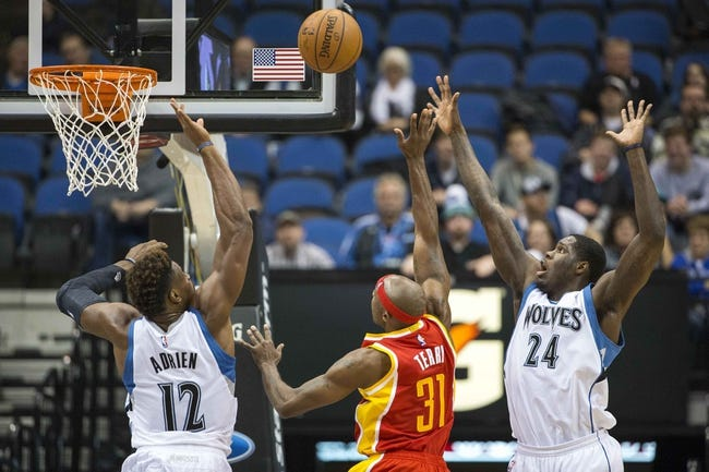 Houston Rockets vs. Minnesota Timberwolves - 2/23/15 NBA Pick, Odds, and Prediction
