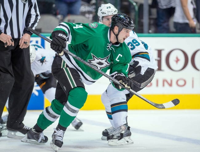 Stars vs. Sharks - 2/19/15 NHL Pick, Odds, and Prediction