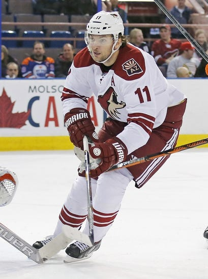 Arizona Coyotes vs. Edmonton Oilers - 12/16/14 NHL Pick, Odds, and Prediction