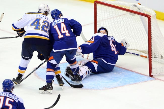 St. Louis Blues vs. New York Islanders - 12/11/14 NHL Pick, Odds, and Prediction