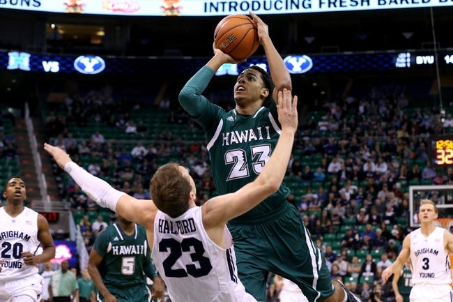 Hawaii Warriors vs. Colorado Buffaloes - 12/25/14 College Basketball Pick, Odds, and Prediction