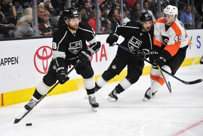 Philadelphia Flyers vs. Los Angeles Kings - 11/17/15 NHL Pick, Odds, and Prediction