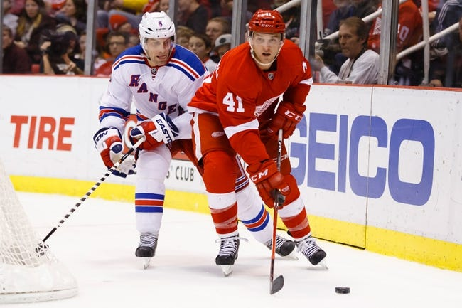 Detroit Red Wings vs. New York Rangers - 3/4/15 NHL Pick, Odds, and Prediction