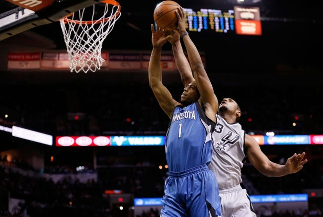 Timberwolves vs. Spurs - 1/10/15 NBA Pick, Odds, and Prediction